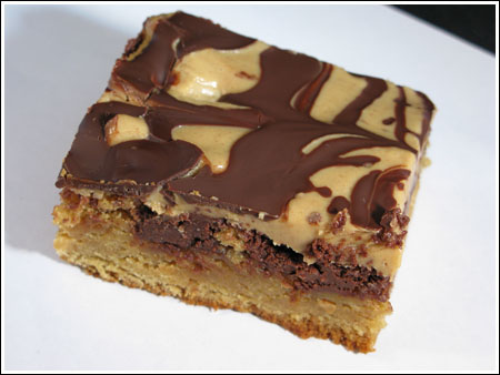 Marbled Peanut Butter Brownie