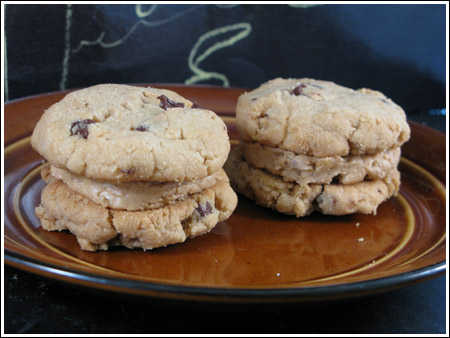 Milk Chocolate-Peanut Butter Sandwich Cookies Recipes — Dishmaps