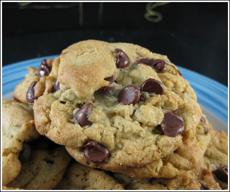 Chocolate Chip Cookies with Pudding Mix