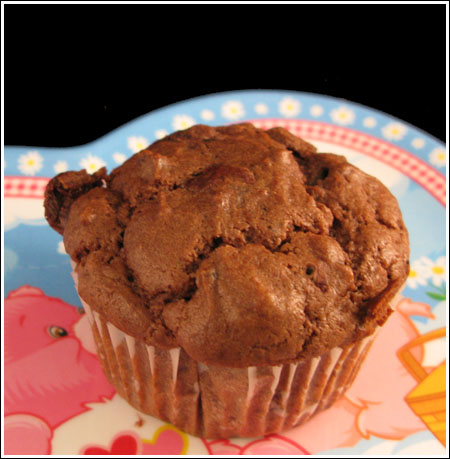 Chocolate Yogurt Muffin