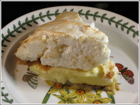 Sour Cream Lemon Meringue Pie
