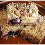 Creamy Lemon Blueberry Bars