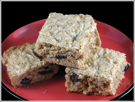 Every Day Food Oatmeal-Raisin Bars