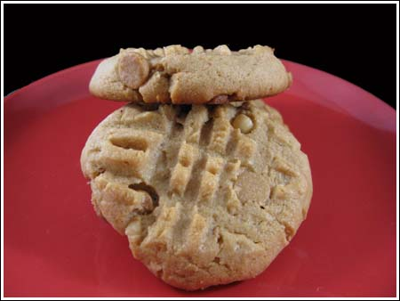 Criss-Cross Peanut Butter Cookies