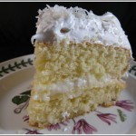 Small Coconut Layer Cake