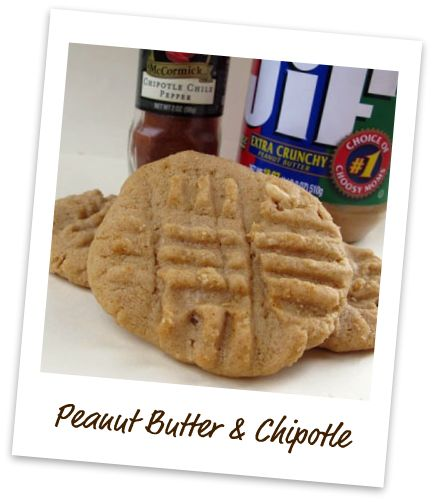 Peanut Butter Chipotle Cookies