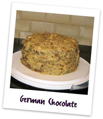 German Chocolate Cake Report