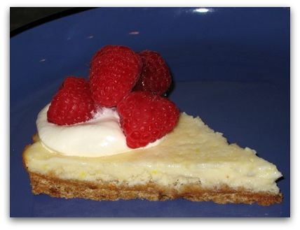 key lime tart slice