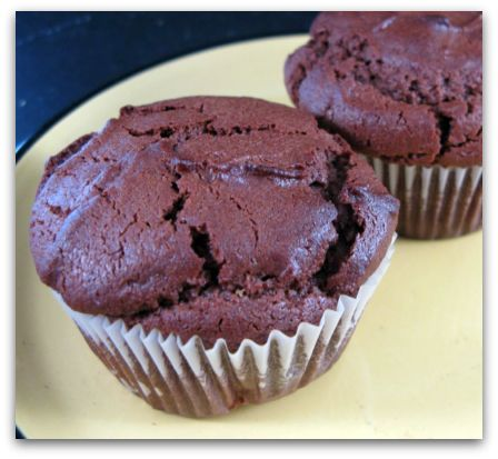 Chocolate Muffins With Sour Cream
