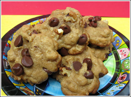 wholesome chocolate chip cookies