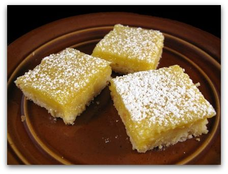 Quite Possibly The Best Lemon Squares Ever