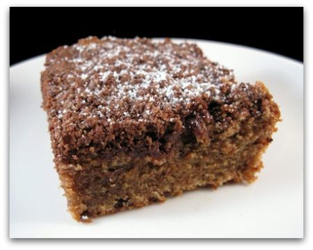 Mexican Chocolate Streusel Cake