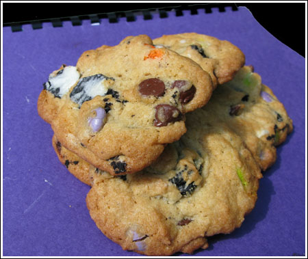 M&M Oreo Chunk Chocolate Chip Cookies