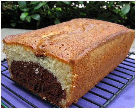malted milk pound cake