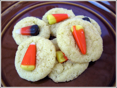 Every Day Food Candy Corn Sugar Cookies