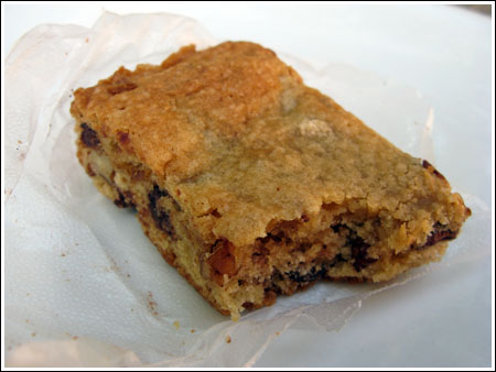 Pat's Chocolate Chip Bars — Fresh Test