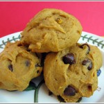 Pumpkin Chocolate Chip Cookies with Oil