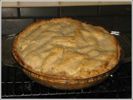 apple pie with whole wheat crust