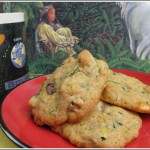 Cranberry, Walnut & White Chip Zucchini Cookies