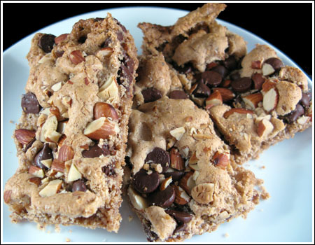 Chocolate Almond Bars