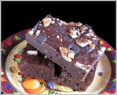 Double Chocolate Mashed Potato Brownies