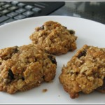 Agave Honey Oatmeal Raisin Cookies