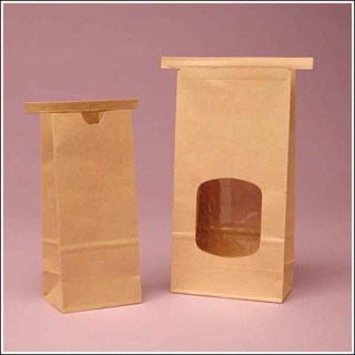 Tin Tie Bags from Box and Wrap