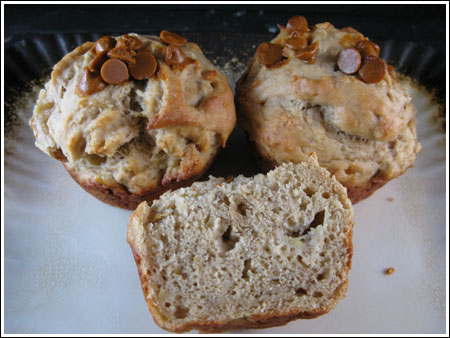 banana muffins with protein powder
