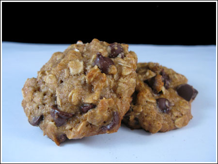 Oatmeal Chocolate Chip with Agave