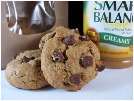 Stir & Bake Peanut Butter Chocolate Chip Protein Cookies