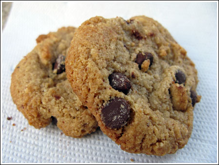 nutty oaty cookies