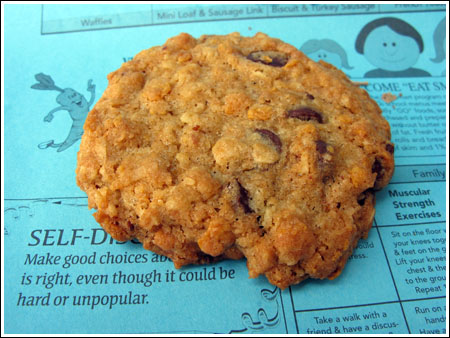 Flying Saucers Oatmeal Cookies