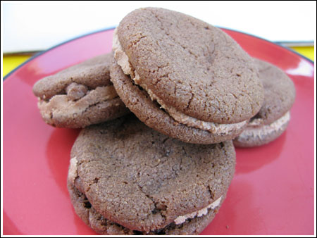 malted milk chocolate cookies