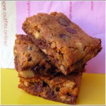 Malted Milk Blondies