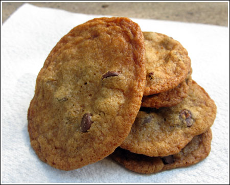 More Thin & Crispy Chocolate Chip Cookies - Cookie Madness