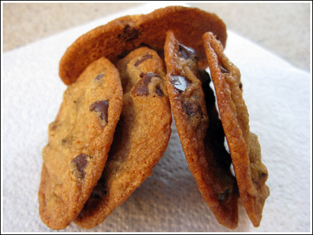 Thin and Crispy Cookies