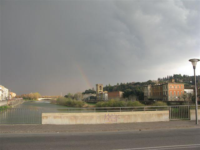 Rainbow Over Arno