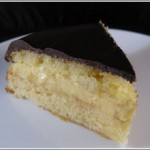 Shirley Corriher's Boston Cream Pie from Bakewise