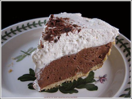 French Silk Pie from Martha Stewart - Cookie Madness