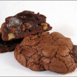 Double fudge cookie