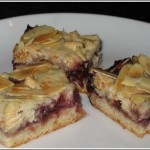 White Chip Raspberry Bars