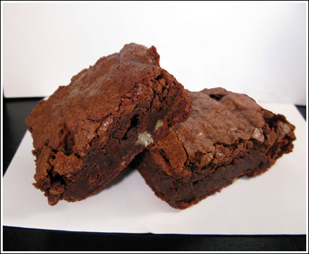 Brownies with Toasted Ancho - Cookie Madness