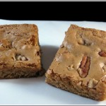 Blondies with Roasted Pecans Plus Recipe Contest