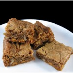 Butterscotch Blondies Adapted from R. Sax