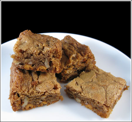 Butterscotch Blondies Adapted from R. Sax - Cookie Madness