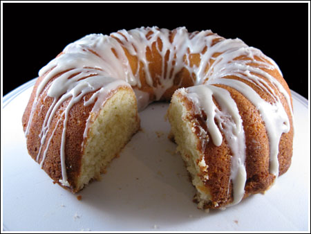 Key Lime Bunt Cake