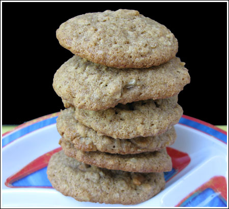 Butterscotch Walnut Wheat Cookies