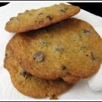 Thin Chocolate Chip Cookie