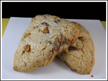 Rich Butterscotch Pecan Scones