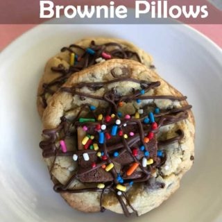 Chocolate Chip Brownie Pillows